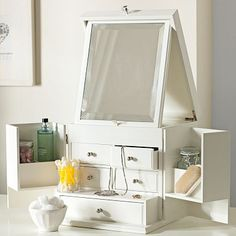 Ultimate beauty vanity at PB Teen