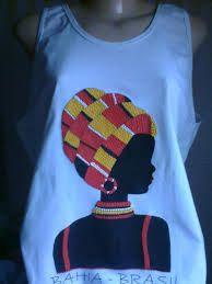 Resultado de imagem para africana de tecido