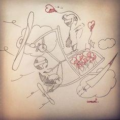 Qui en veut? Who wants? #Draw #Anart #Inktober #Love #Byzance #Dream
