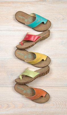 ef68ce023 Moshulu sandals - Bestselling toe loop sandals
