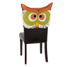 Brown Owl Chair Cover....SHAWNNA TERZOLI...ONLY $6.99