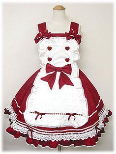 angelic pretty パティシエジャンパースカート