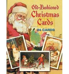 Old-fashioned holiday charm abounds with these collectibles and their colorful portraits of ruddy-cheeked children and Santas. A joy to send or keep, reproduced directly from rare originals of 1900-30.