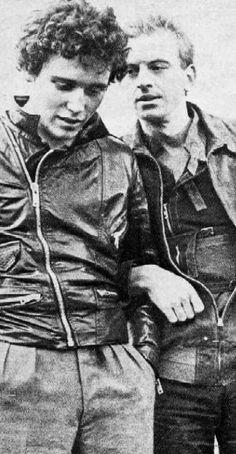 Adam Ant and Ian Charleson in Derek Jarman's 'Jubilee', 1978