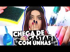 CRIANDO KIT DE UNHA CASEIRA SEM GASTAR NADA (NAIL ART) #2 | KIM ROSACUCA - YouTube
