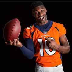 Denver Broncos Baby, Go Broncos, Emmanuel Sanders, Different Sports, Sports Photos, Attractive Men, Real Women, Nfl, Sporty