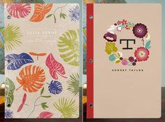 Personalised journals... nice idea!