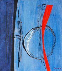 """Fritz Winter (22 September 1905, Altenbögge (now part of Bönen) — 1 October 1976, Herrsching). """"Абстракционизм - abstract art"""" в социальных сетях - http://www.1abstractart.com/---abstract-art"""