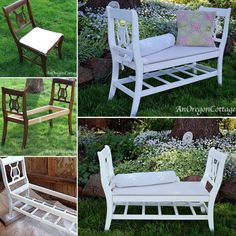 Upcycled Love Seat from 2 Chairs Tutorial