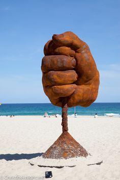 Sculpture By The Sea, Bondi 2015 Sydney Blog, Sky Go, The Sound Of Waves, Sea Sculpture, City Beach, Countries Of The World, Public Art, Australia Travel, Love Art