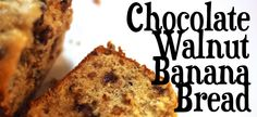 Jenessa's Dinners: Chocolate Chip Walnut Banana Bread (in my oven right now)