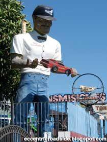 Muffler Man Tony  East Los Angeles