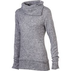 Every woman needs a cozy, easy-wearing top when the chill sets in, one like the Kavu Women's Sweetie Sweater, made of polyester knit and featuring an asymmetrical collar. Its light and lazy, relaxed style with hip-length coverage lets you lounge in comfort or hit the town in simply flattering fashion.