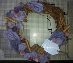 Barnsley Crafter: Butterfly Wreath