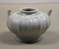 Ewer  Date:11th–13th or 15th–16th centuries Culture:Vietnam Medium:Stoneware with opaque glaze Dimensions:H. 3 1/2 in. (8.9 cm); Diam. 4 3/4 in. (12.1 cm) Classification:Ceramics Credit Line:Gift of Betty and John R. Menke, 1991 Met 1991.456.11