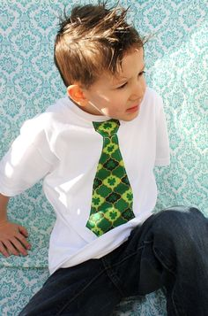 St. Pat's Day tie shirt