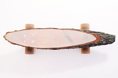 Awesome Natural Wood Skateboard Design by Marco & Sven