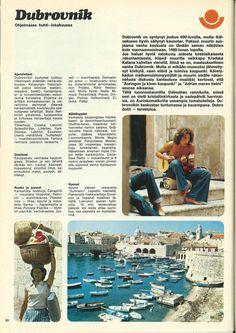 Dubrovnikin esite vuodelta 1975