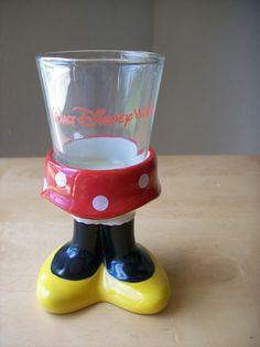 Walt Disney World Minnie Mouse Ceramic Shot Glass