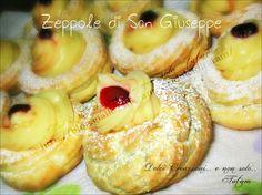 Zeppole di San Giuseppe al Forno