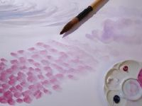 How to Paint Clouds With Watercolors thumbnail Henri Matisse, One Stroke Painting, Painting Clouds, Watercolor Paintings, Watercolor Ideas, Watercolours, Color Lila, Learn To Paint, Art Techniques