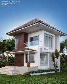 Exterior By, Sagar Morkhade (Vdraw Architecture) +8793196382