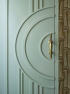 Door Design Interior, Main Door Design, Wooden Door Design, Wooden Doors, Interior Decorating, Modern Interior Doors, Bedroom Door Design, Art Deco Bedroom, Modern Door