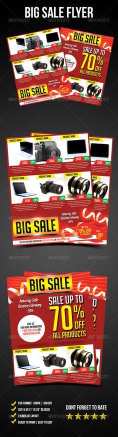 Big Sale Flyer - graphicriver sale