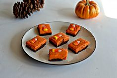 Chocolate Pumpkin Fudge is an easy and delicious dessert!
