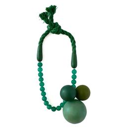JANTJE FLEISCHUT-DE/NL Necklace, 2012  'around' — necklace 2012  Length 52 cm  Material silver, found rope, resin, fibre glass