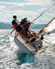 With the largest playing field in the world the ocean sailing is a relaxing adventurous thrilling and competitive sport. #PhotosNotPasswords