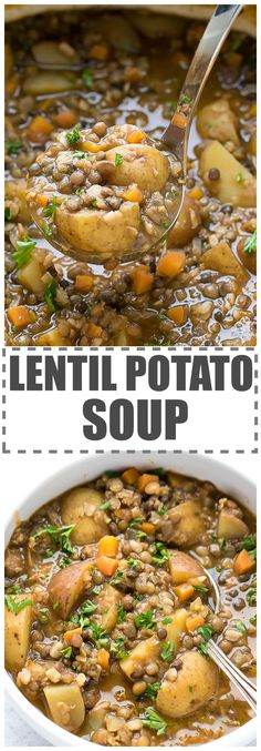 Easy Lentil Potato S