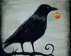 Popular items for halloween art on Etsy