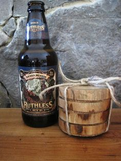 Natural Wood  Hickory Coasters by TimberWoodsWares on Etsy, $16.00