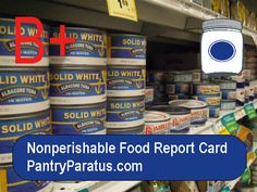 Nonperishable Food Report Card- I  Just love this post and the way it exposes toxic un -healthy foods and the ingredients you should be avoiding if you want to stay healthy. Excellent pin!!!!! Very good learning experience if you aren't familiar with these foods.