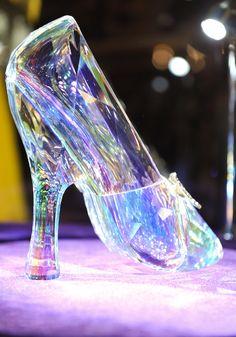 Modern fairytale./ Cinderella / karen cox. Exquisite Swarovski slipper was made especially for the film