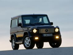 Mercedes-Benz G 500 SWB (W463) '1998–2002