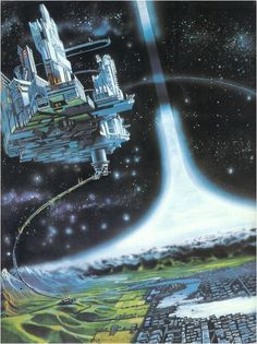 I just finished Larry Niven's Neutron Star; I read a lot of Larry Niven's Known Space science fiction back in the I am beginning to re-read his novels. Fantasy City, Sci Fi Fantasy, Fantasy World, Cyberpunk, Larry Niven, Sci Fi Kunst, Science Fiction Kunst, Arte Sci Fi, Sci Fi City