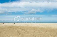 Northern France seashore in spring   Stock Photo   iStock