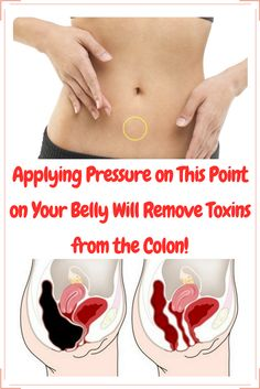 Applying Pressure on This Point on Your Belly Will Remove Toxins from the Colon!