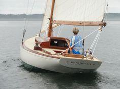 Penobscot, Charles Mower Designed R-Class sloop.