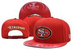 fe59d120190ca NFL San Francisco 49ers New Era Unique Brim Snapback Hats