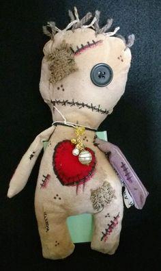 Voodoo doll * Juju doll * Handmade * OOAK * zombie * art doll * TWD * creepy