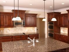 Kitchen Idea Of The Day Cherry Stained Kitchens Gallery