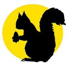 squirel silhouette - Google Search