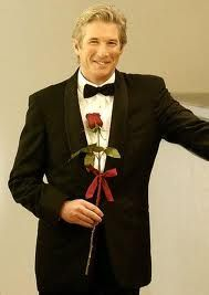 Richard Gere - Officer and a Gentleman, Shall We Dance, Pretty Woman... uniforms and tuxes were made for him... just saying.