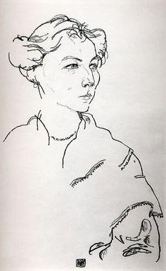 Egon Schiele - Lilly Steiner