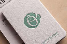 Obra. Tarjetas Personales Personal Cards, Promotion Card, Letterpress, Typo, Ideas Para, Business Cards, Branding, Graphic Design, Identity