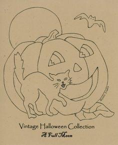 Ol' Halloween Stitch Quilt Pattern Set                                                                                                                                                      More