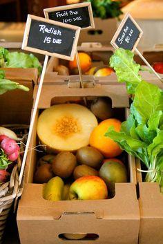 Delicious organic fruit baskets to be found at the Ripe Markets in Dubai Al Quoz Safa Park #safa #park